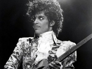Prince during his Purple Rain era