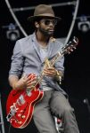 Gary Clark Jr. in action